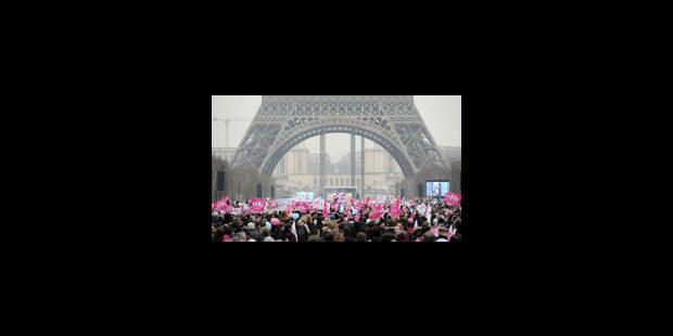 800.000 manifestants contre le mariage pour tous, selon les organisateurs
