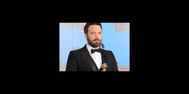 """Ben Affleck, """"vainqueur"""" surprise des Golden Globes - La Libre"""