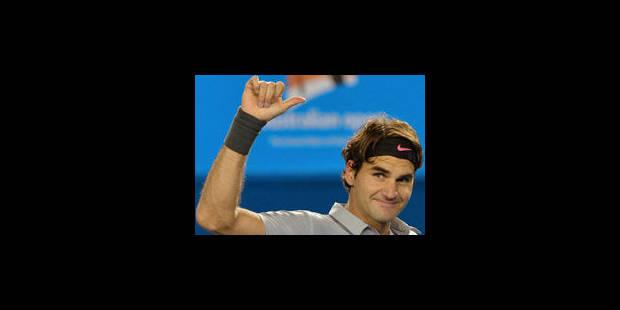 Federer continue d'impressionner