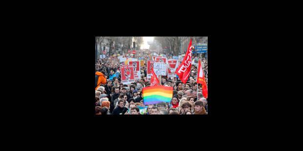 Mariage pour tous : entre 125.000 et 400.000 manifestants dans les rues de Paris