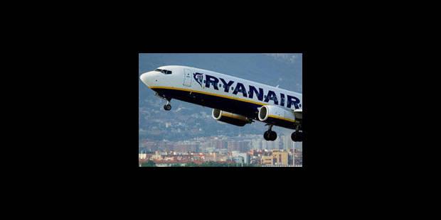 """Ryanair: un arrêt qui """"va faire augmenter le prix des billets"""""""