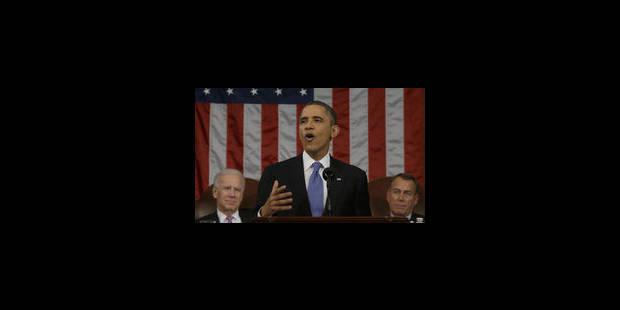 Discours de l'état de l'Union: Barack Obama insiste sur la reprise économique - La Libre