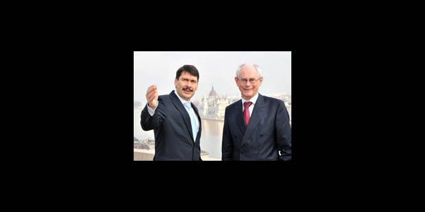 """Van Rompuy: 2012 """"un tournant"""" pour la crise"""
