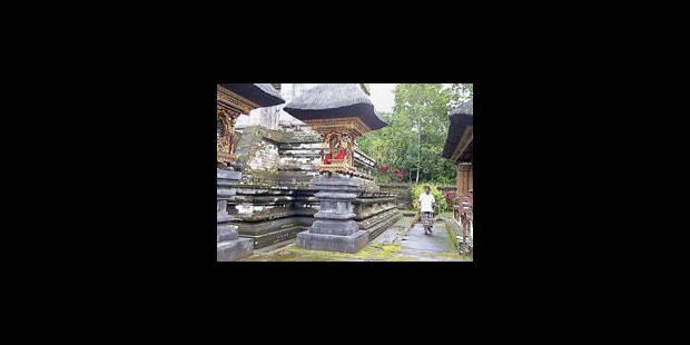 Il est interdit de faire la java à Bali