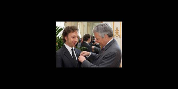 Stéphane Bern élevé au grade d'Officier de l'Ordre de Léopold - La Libre