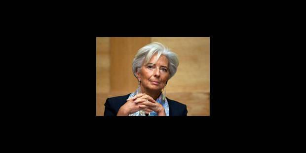 Affaire Tapie: perquisition au domicile de Christine Lagarde - La Libre