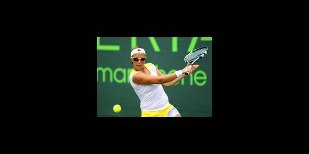 Kirsten Flipkens atteint son meilleur classement - La Libre