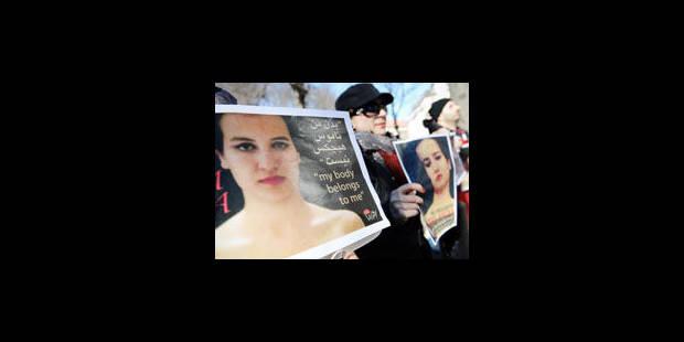 Amina, la Femen tunisienne, a fugué