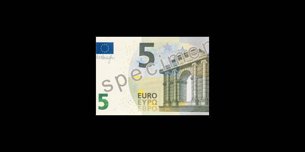 Le nouveau billet de 5 euros est arrivé - La Libre