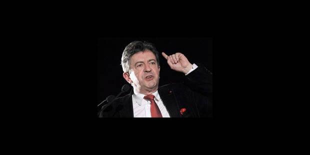 """Mélenchon: 100.000 manifestants dimanche, ce serait """"un triomphe"""""""
