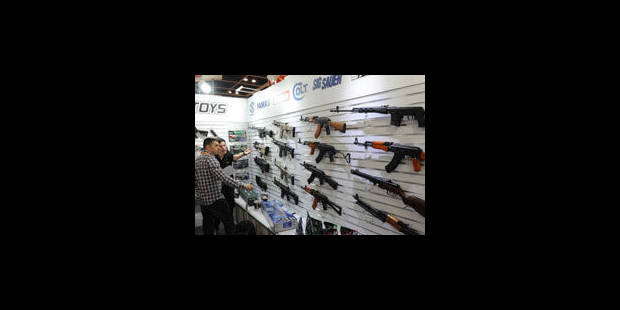 Hausse des exportations d'armes en Flandre