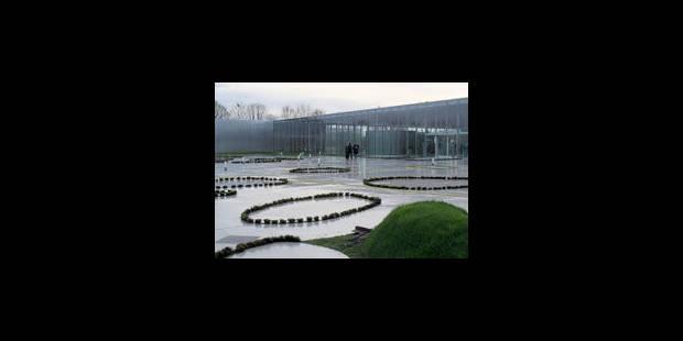 Le futur musée dans la zone du canal