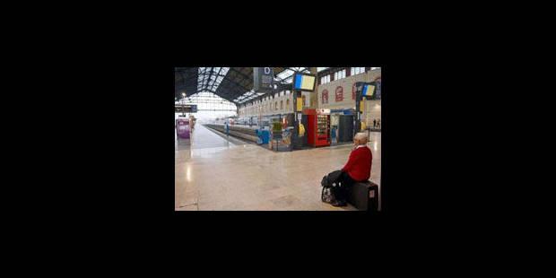 Le trafic des trains fortement perturbé en France - La Libre