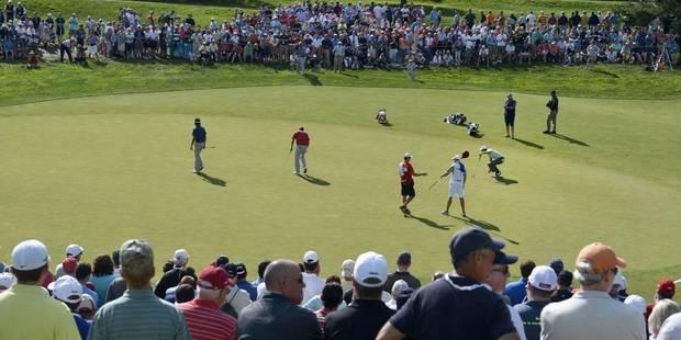 Nicolas Colsaerts reste 44e au classement mondial de golf - La Libre