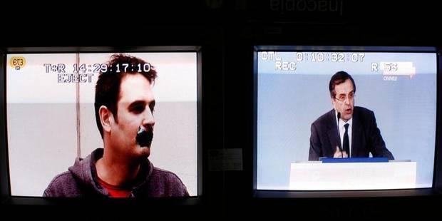 Samaras veut rouvrir partiellement la télévision publique - La Libre