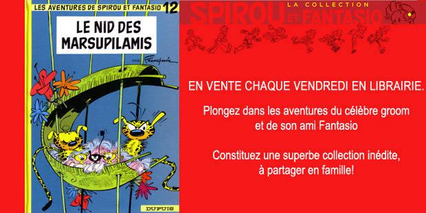 """""""Le nid des Marsupilamis"""", la critique d'Hubert Leclercq"""