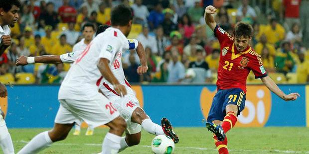 Coupe des Confédérations: L'Espagne donne la leçon à Tahiti - La Libre