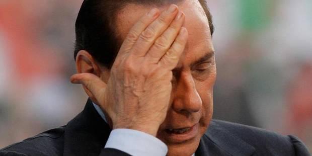 """Berlusconi condamné à 7 ans de prison: """"Je résisterai à la persécution"""" - La Libre"""