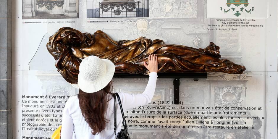 Nouvel acte de vandalisme sur une des plus célèbres statues de la Grand Place