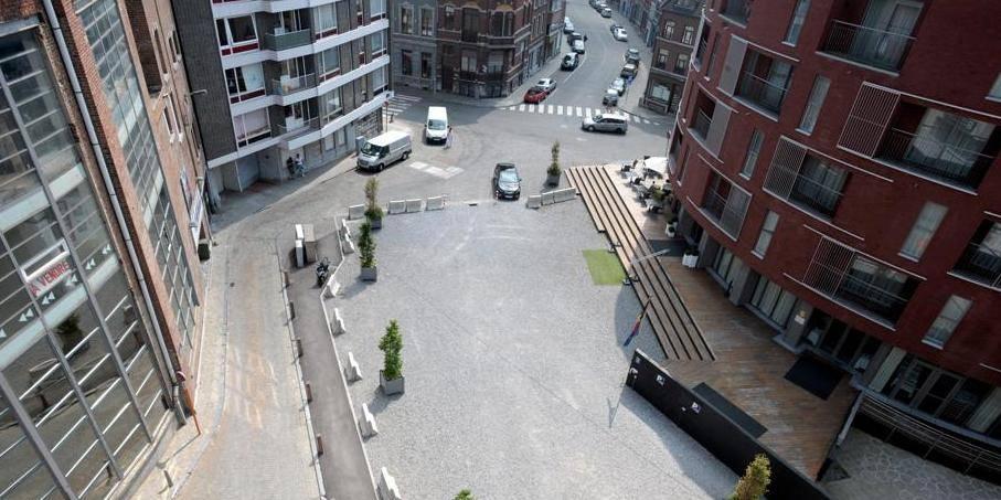Une nouvelle place au centre-ville de Liège