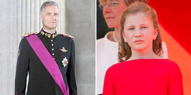 Le roi Philippe et la princesse Elisabeth ne volent plus ensemble