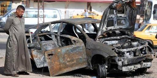 Vague d'attentats à la voiture piégée à Bagdad