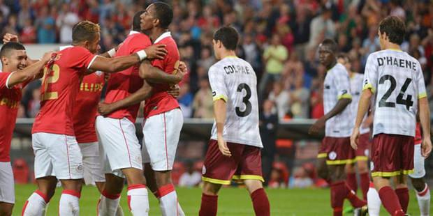 Zulte Waregem impuissant face au PSV (2-0) - La Libre
