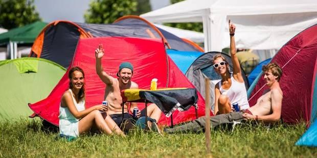 Le bel été des campings wallons - La Libre