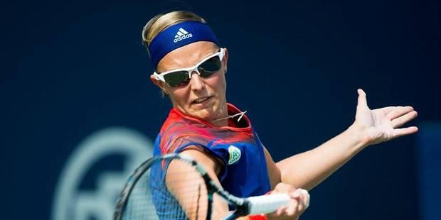 WTA Cincinnati: Kirsten Flipkens éliminée au 1er tour par la Russe Elena Vesnina - La Libre