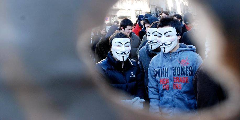 Demonstration against controversial ACTA - Paris