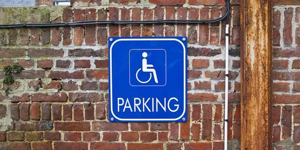 Se garer sur les places handicapées: tolérance zéro - La Libre