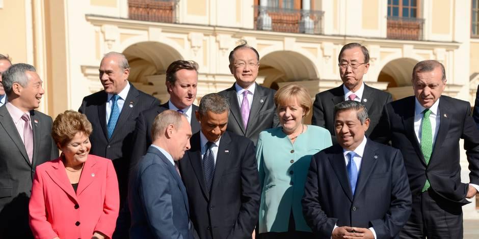 """Syrie: 11 pays du G20 appellent à une """"réponse internationale forte"""""""