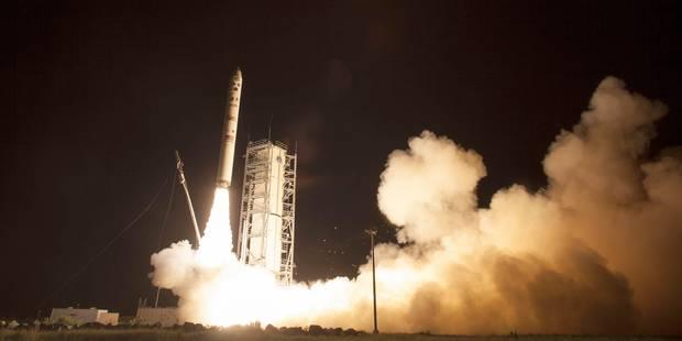 La NASA a lancé une sonde vers la lune - La Libre