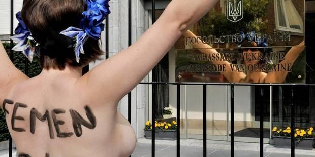 La branche belge du mouvement Femen arrête ses activités - La Libre