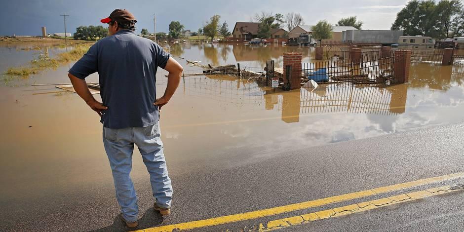 Inondations: plus de 500 personnes portées disparues au Colorado