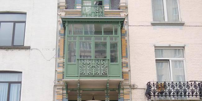 Qu'y a-t-il derrière les façades Art nouveau ?
