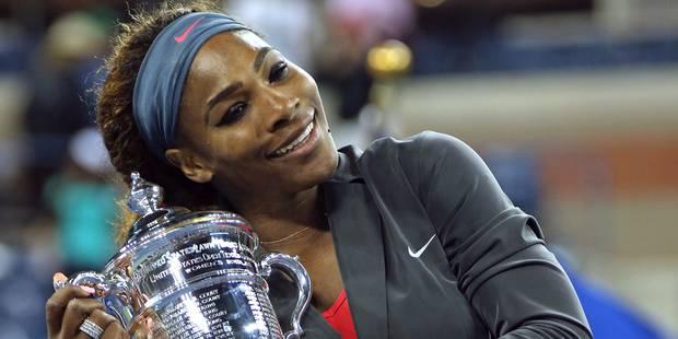Serena Williams assurée de terminer l'année à la 1re place - La Libre