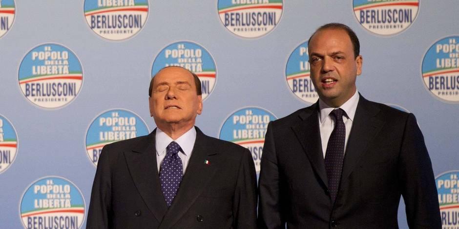 Berlusconi défié par son dauphin qui appelle à voter pour Letta