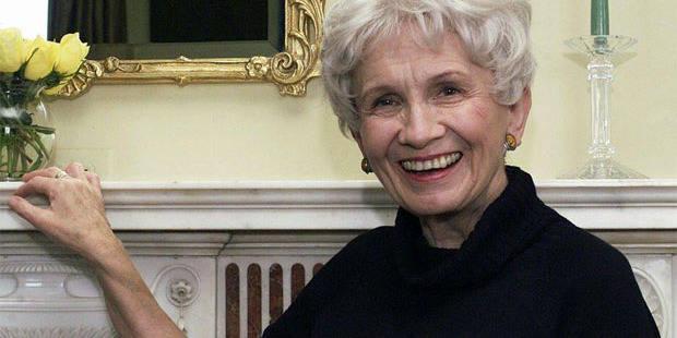 Le Prix Nobel de Littérature attribué à Alice Munro - La Libre