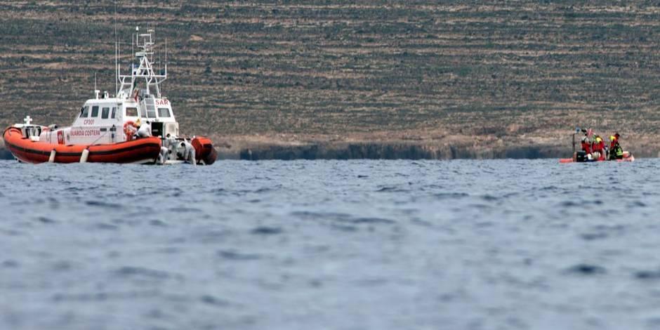 Un nouveau naufrage d'immigrés au large de Lampedusa aurait fait environ 50 morts