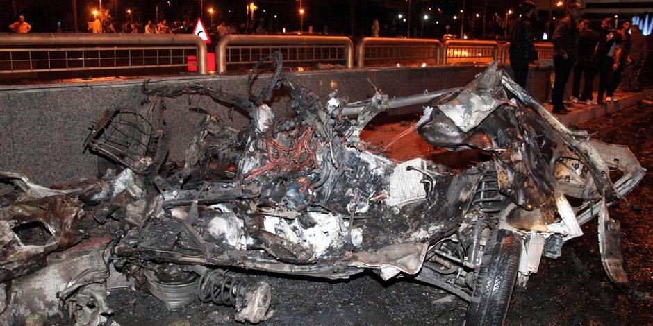 Deux voitures piégées explosent dans le centre de Damas