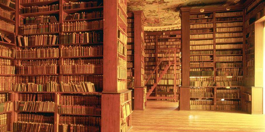 The university ancient Library. City of Graz. Styria. Austria