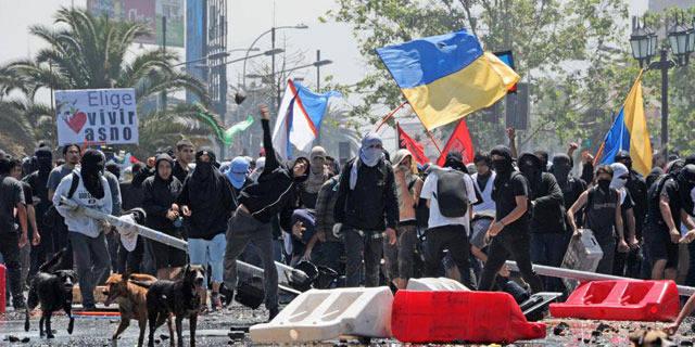 Chili : manifestations étudiantes à un mois de la présidentielle