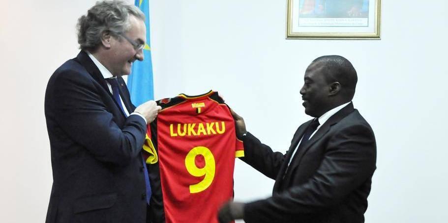 """M. Labille évoque avec M. Kabila le """"plan Marshall"""""""