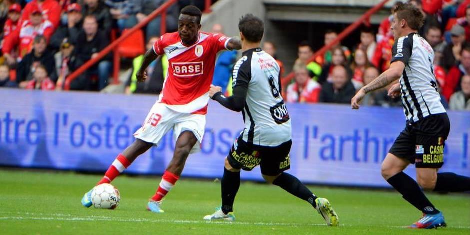 Le Standard partage à Charleroi (2-2), Bruges trébuche à Courtrai (4-1)