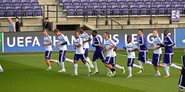 Anderlecht revoit ses schémas tactiques - La Libre
