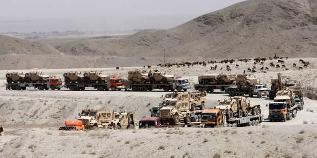 afghanistan les usa arnaqu s sur le prix du fuel la libre. Black Bedroom Furniture Sets. Home Design Ideas