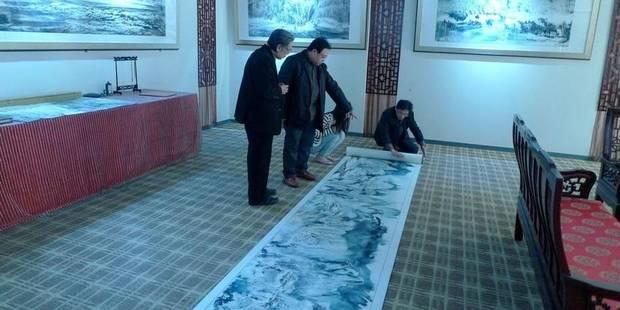 Un peintre chinois en hiver - La Libre