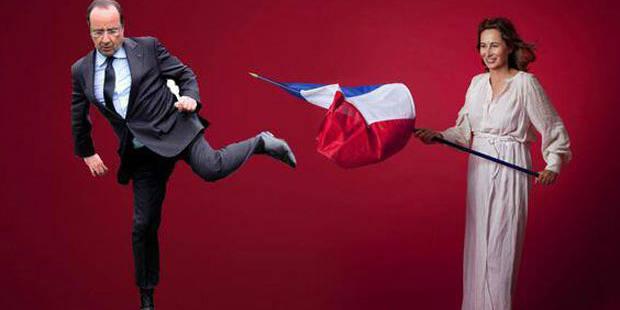 Ségolène Royal en Marianne: les photos détournées