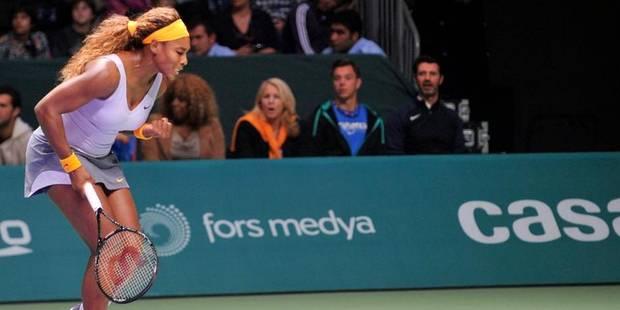Serena Williams première demi-finaliste - La Libre